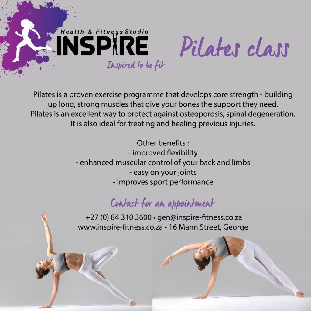 Pilates Inspire Fitness www.inspire-fitness.co.za