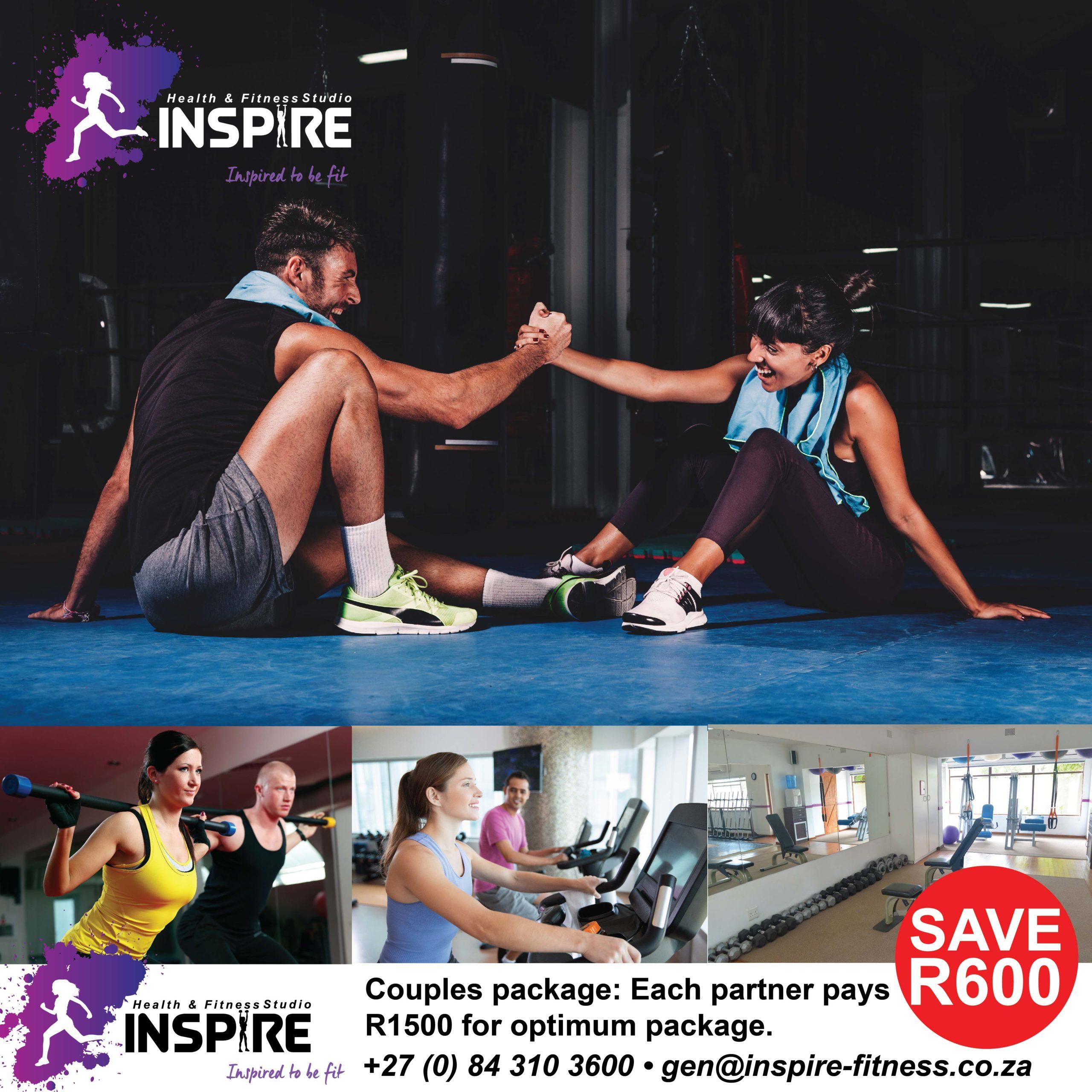 Specials Inspire Fitness www.inspire-fitness.co.za