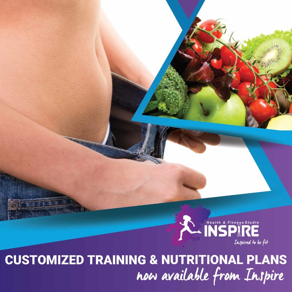 Customized Training and Nutritional Plans Inspire Fitness www.inspire-fitness.co.za